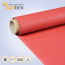 0.9mm Silicone Rubber Coated Fiberglass Thermal Insulation Material