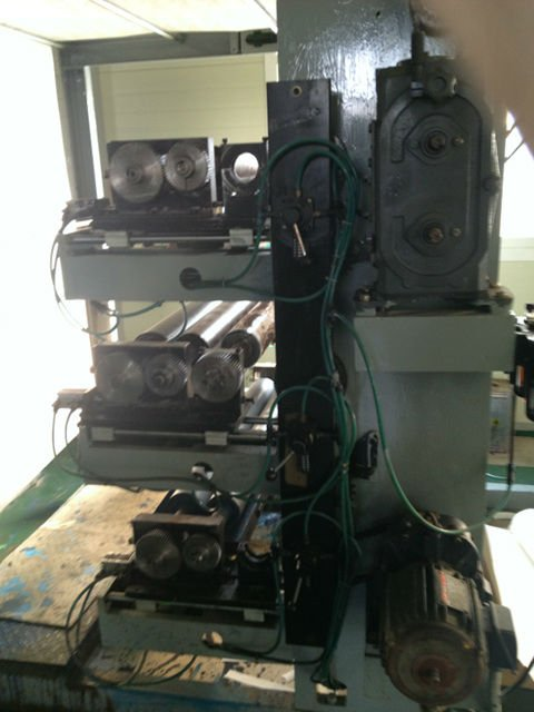 Paper cup making Printing Punching machine
