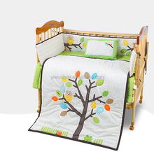Baby crib bedding sets /baby cot bedding set /Embroidery baby quilt set