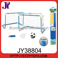 Kid's outdoor sport toy football game with net