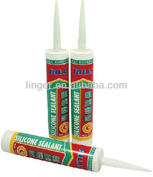 transparant liquid RTV silicon sealant
