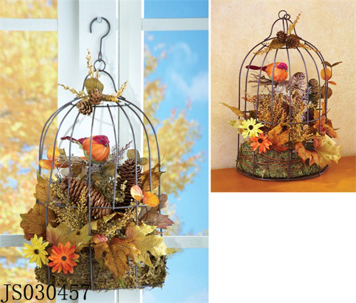2016 New Christmas decoration, christmas wall hanging decorations, with bird nest design