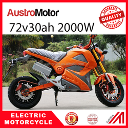 China sport electric scooter modern electric motorcycle 2000W 72v