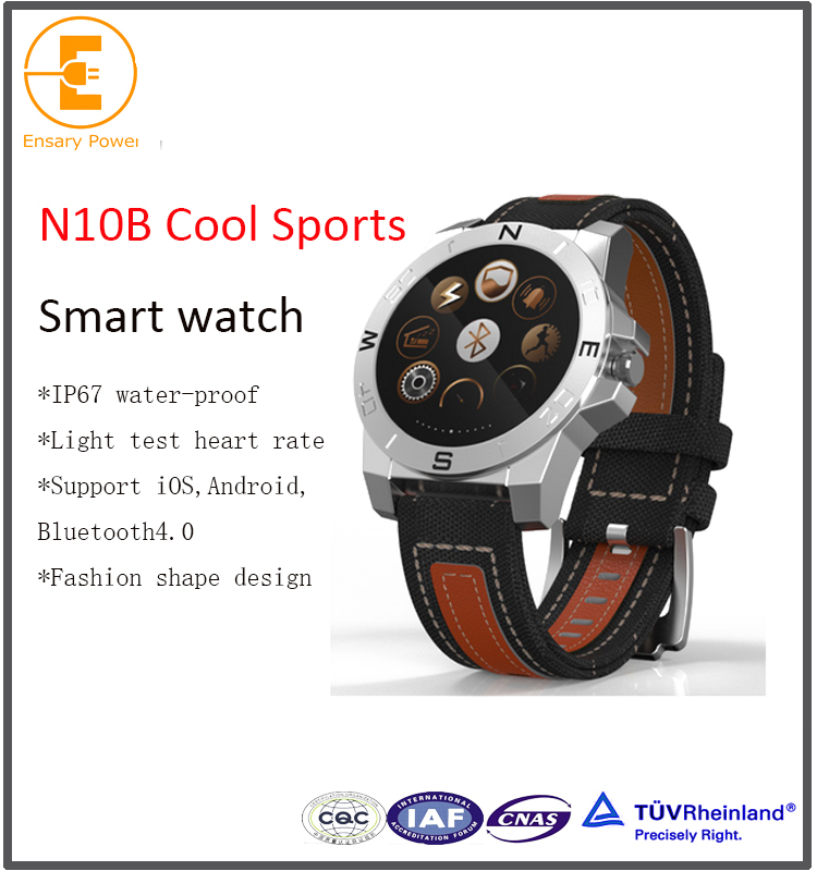 Factory Selling gsm smart watch N10B android smartwatch with elevation sports style bluetooth synchronization