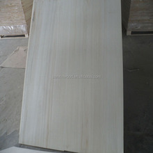 Types of Wood Boards from China Factory Paulownia Tree Wood Timber