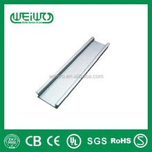 High quality Cold rolled Steel Din Rail 35 mm x 7.5 mm x 1.5 mm