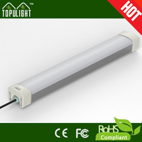 Great outlook finishing aluminum alloy with AC85-265V working tri-proof led tube for parking