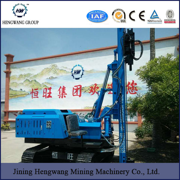 Highway ground screw Guardrail Hydraulic static Pile driver/Harmer Pile Driver Machine for Installing Steel Concrete Posts