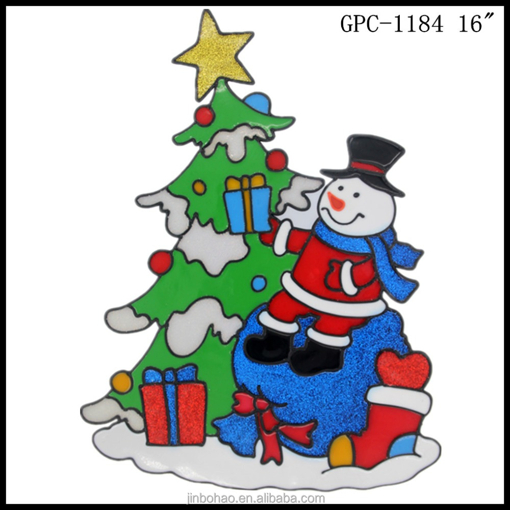 Xiufeng MCS IEC ISO certificated High quality Snowman christmas ball decals for Christmas