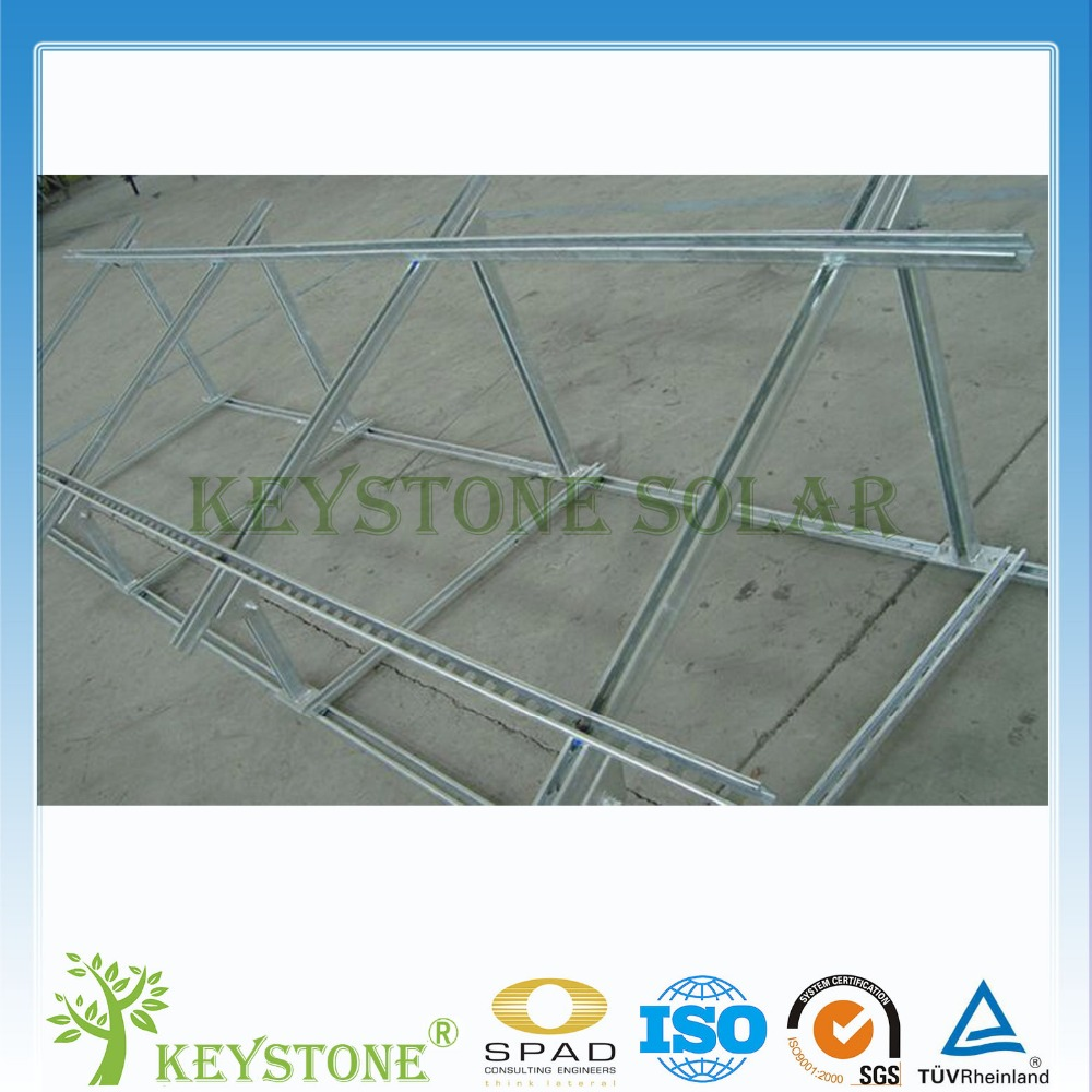Factory price C-style steel PV Mounting Structure for ground mounting system