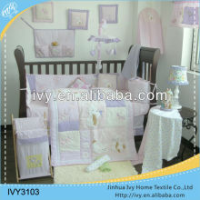Baby crib nursing home textile bedding