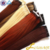 Factory Top Quality Wholesale Full Cuticles Double Drawn Virgin Hair Weft