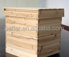 Brand Peffer langstroth pine wood bee box for hot sale