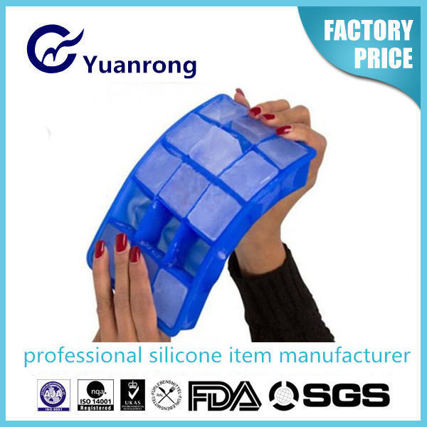 Eco-friendly Silicone Ice Cube Tray Popular Silicone Ice Making Tool