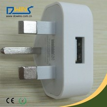 High Quality UK USB Charger Mobile Phone USB Charger