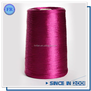 300d60f centrifugal viscose rayon filament yarn dyed