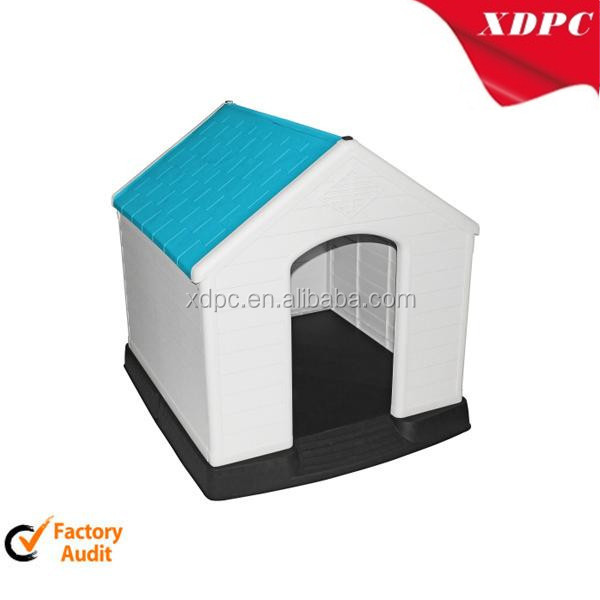 PP big outdoor plastic dog house