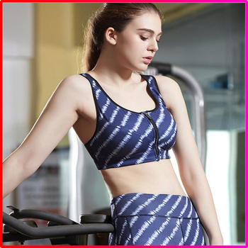 customized sexy sport running fitness yoga bra for women