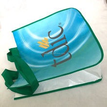 Colorful custom printed recycle laminated shopping non woven bag