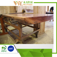 sapele natural edge wood slab