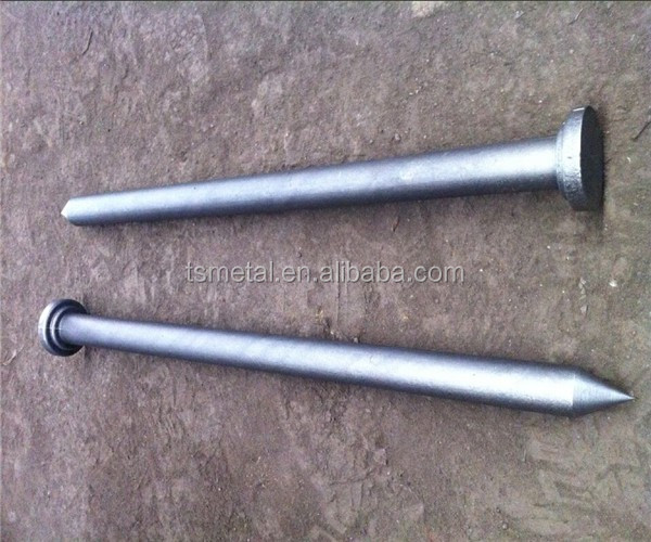 Forged Iron Tent Peg Steel Stake Nail concrete steel nail