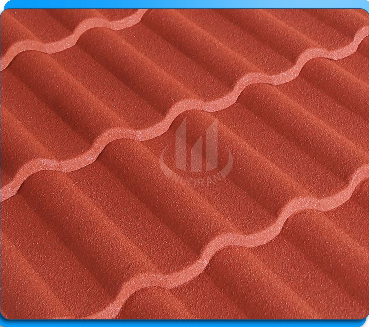 hot in africa newzaland nolan natural color stone coated roof tile