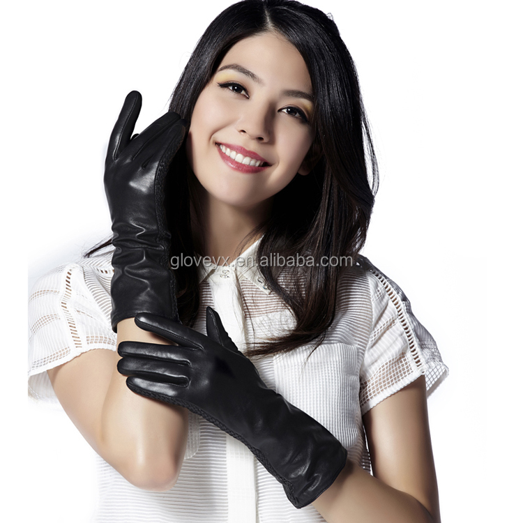 Womens Mid-length Gloves Leather Garments Importers Russia