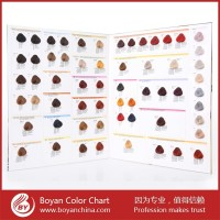 Hair dye color chart natural hair color swatch book