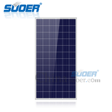 Suoer solar panels 300 watt panel price 36v polycrystalline silicon sunpower solar panel