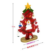 Hot selling 2017 amazon big lots new wholesale wooden christmas decorations home