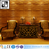 shiny decoration wall panel for lobby wall