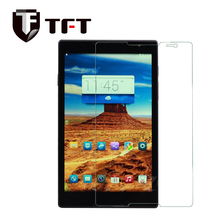 Premium 0.33mm/0.4mm 9H clear tempered glass screen protector for 8 inch tablet