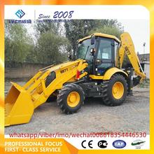 hot sale mini tractor with front end loader and backhoe backhoe loader with with good price b877