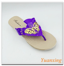 Plastic Slippers New Design Women Flip Flops Ladies Shoes Slipper