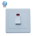 With 13 years experience 20A DP Switch with Neon Plastic switch