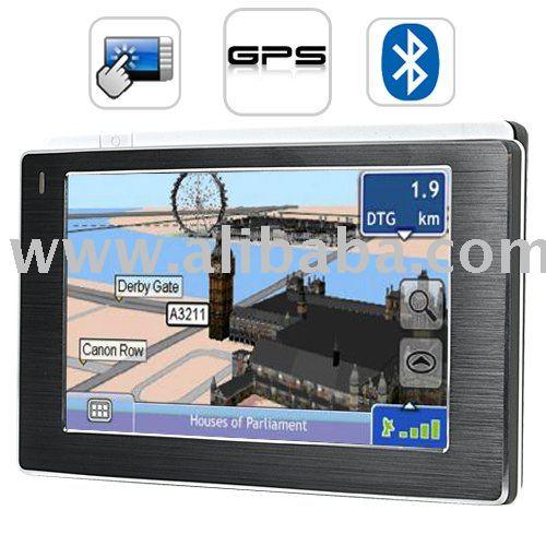 4.3 Inch Touchscreen GPS Navigator w/ Media Player