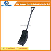 Mini heated snow shovel plastic snow shovel push snow shovel