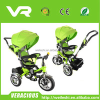High quality kids pedal trike/children baby tricycle/ride on car with rubber tyres