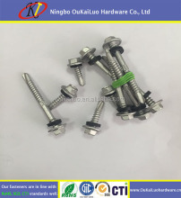 Good anti-rust 1500H dacromat coated drilling roof screw