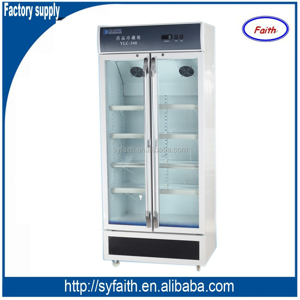Blood bank using medical vaccine pharmaceutical refrigerator