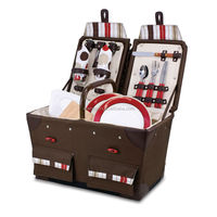 600D Polyester picnic basket for 2 Person