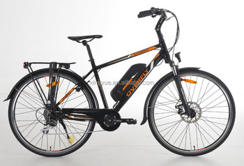 700C city electric bicycle with Bafang Max Mid motor