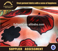 Polyester cotton blend african jersey fabric rolls wholesale
