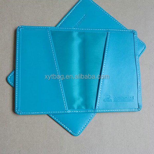 Leather Custom Passport Holder For Promotion