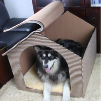 Factory supply low price detachable dog cave cat carrier dogs for house pets