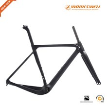 Wholesale price Gravel Carbon Road Frame Fit For 700C And 27.5ER Tyre
