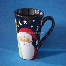 christmas series wholesale personalized ceramic cafe cup ,snowman espresso cups