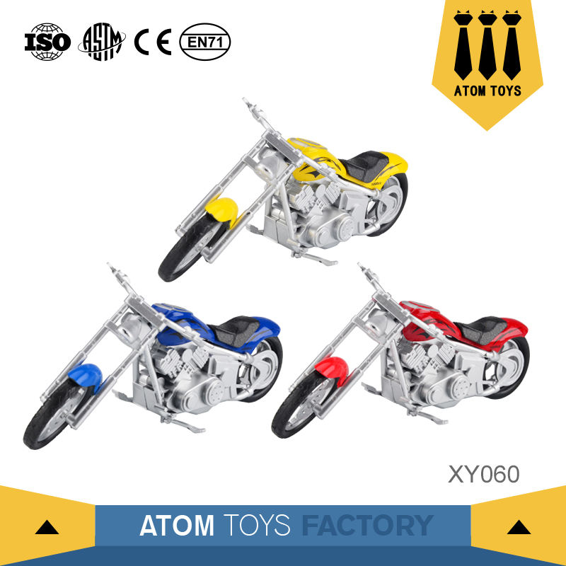 2017 china new custom diecast scale model mini small toy motorcycle for baby