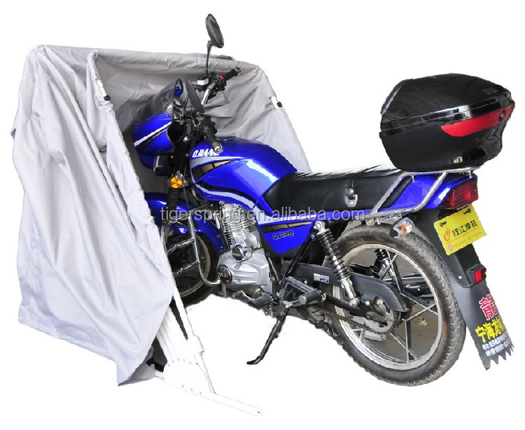 Waterproof tent cover for moto storage