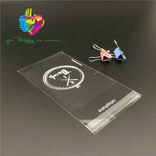 Clear custom printing Alibaba China Self Adhesive Cellophane opp plastic packaging for stationery